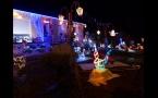 Maisons décorées de Noël