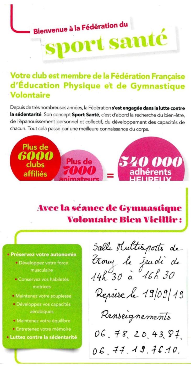 A.G.V.L.D. (Association Gymnastique Volontaire Loisir Détente)