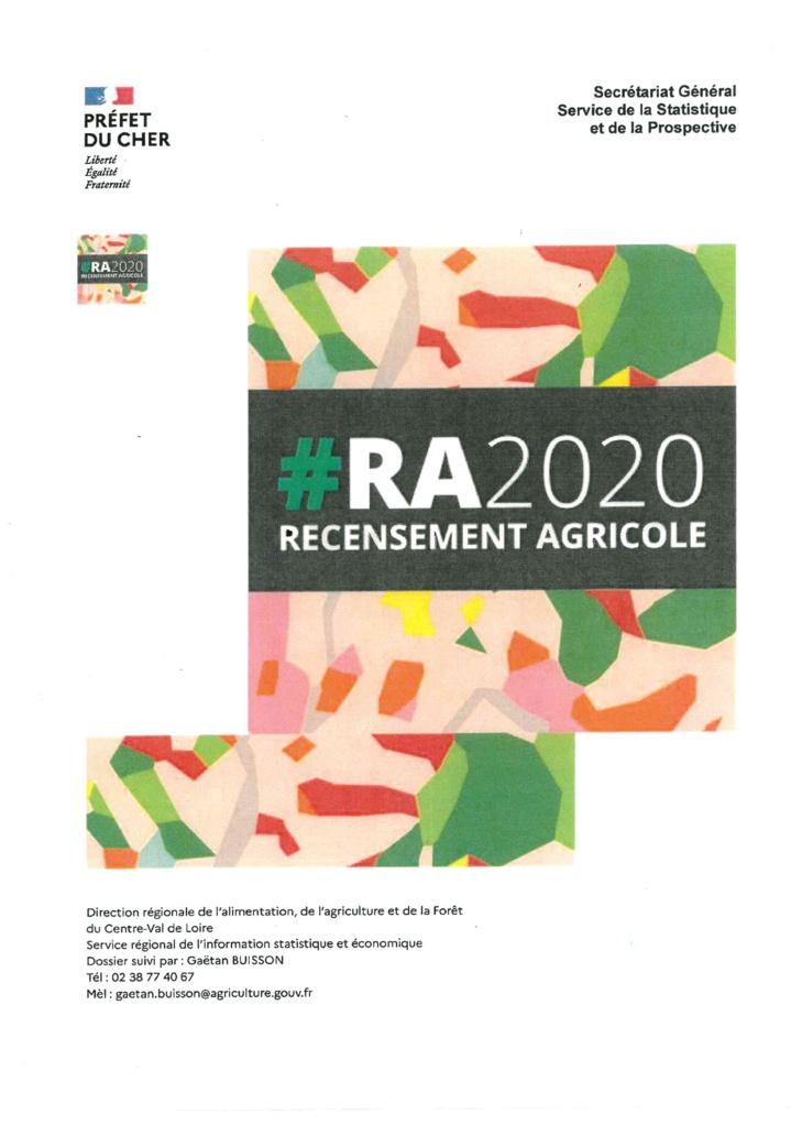 Recensement agricole en 2020