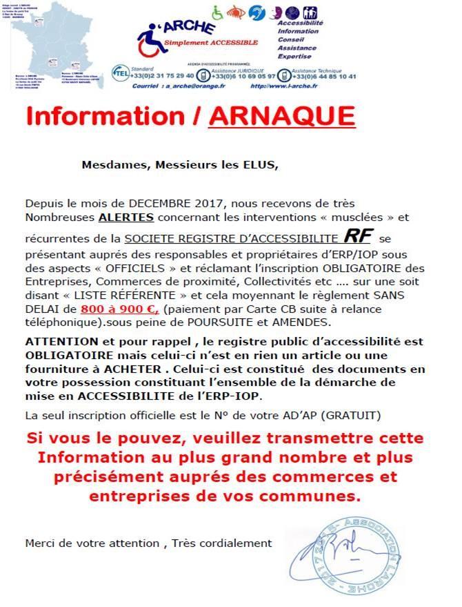 Arnaque