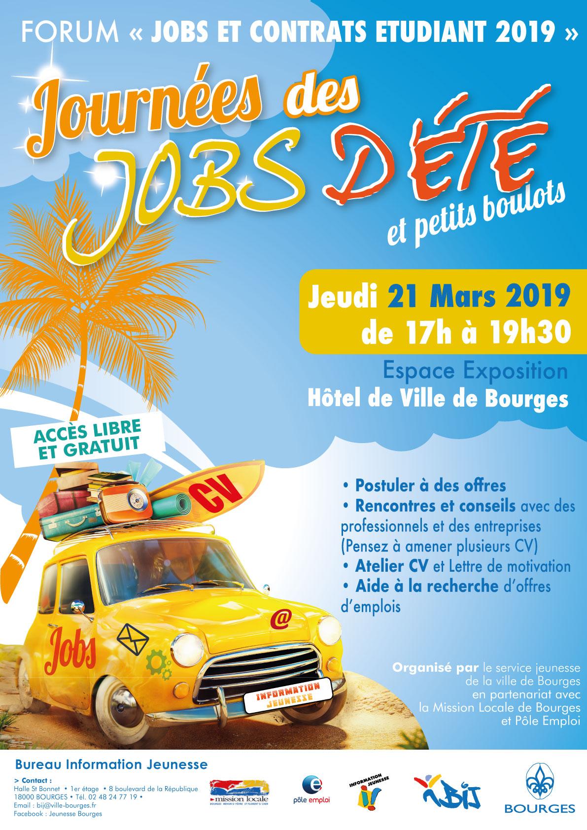 Forum Jobs d'été et contrats étudiant