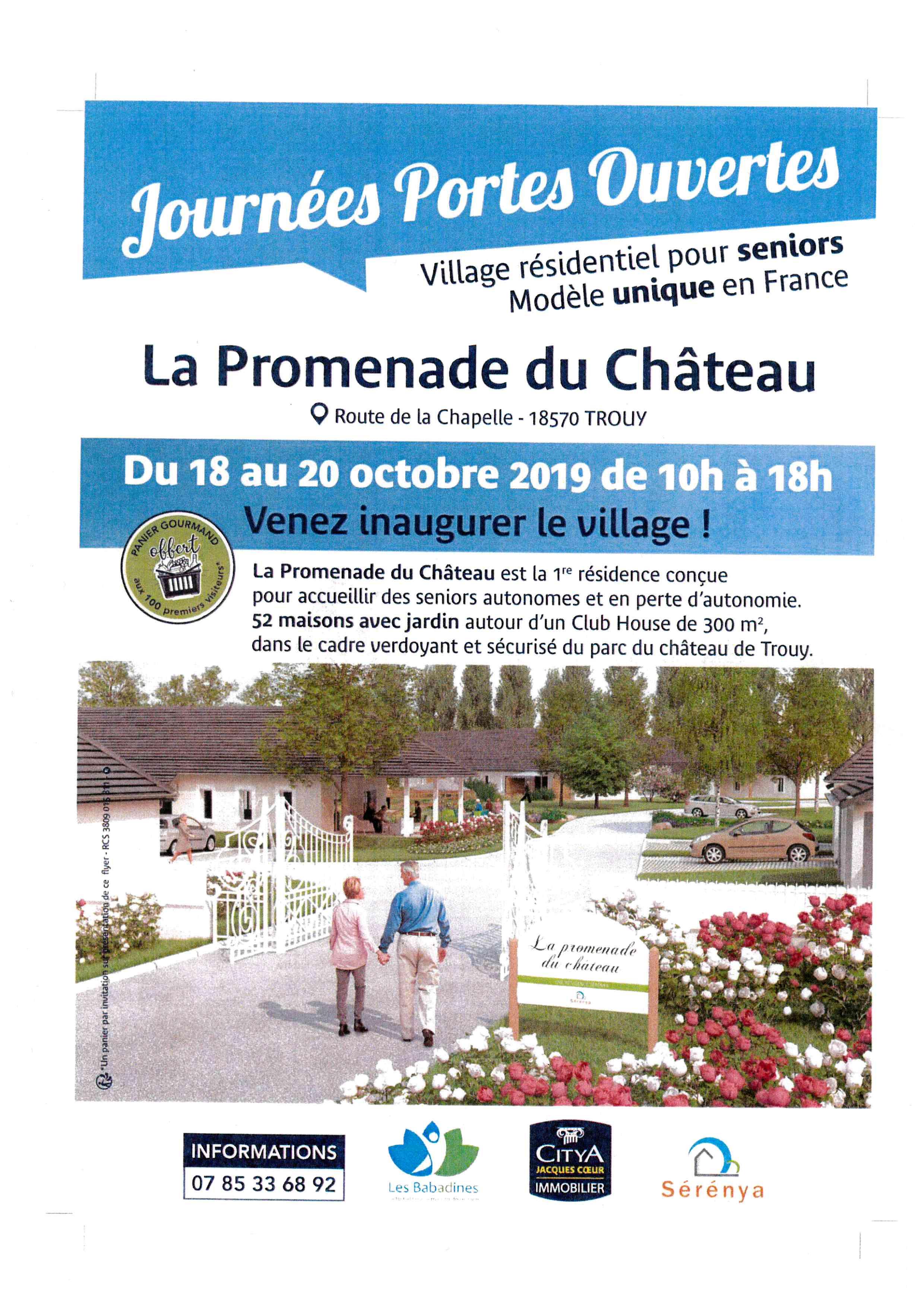 Village seniors ''La Promenade du Château''