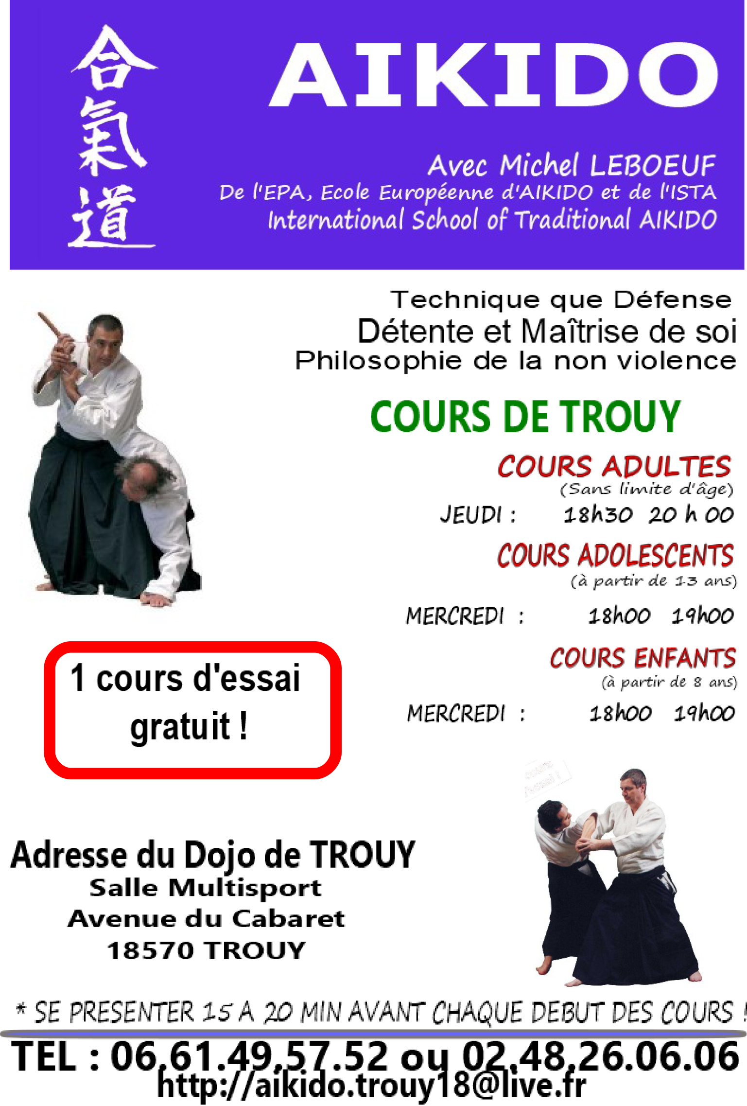 Aïkido traditionnel -Trouy18