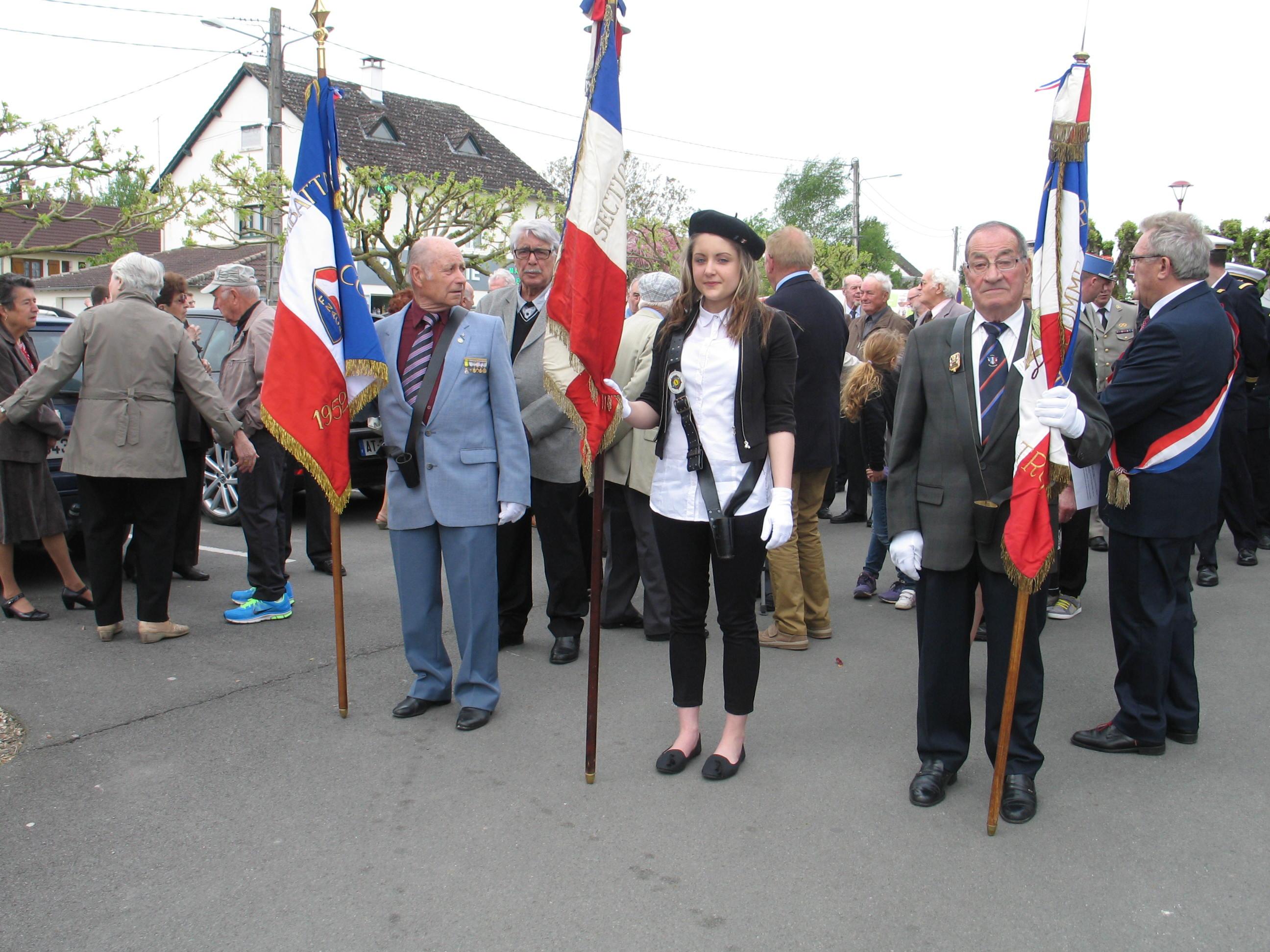 Porte drapeaux