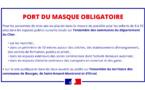 Port du masque obligatoire prolongé jusqu'au 31 mars
